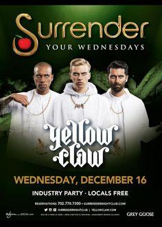 Yellowclaw at Surrender Nightclub