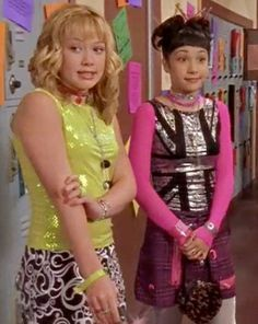Lizzie McGuire - full of fashion advice and love for Aaron Carter