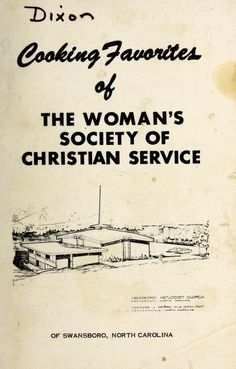 Cooking favorites of the Woman's Society of Chr...