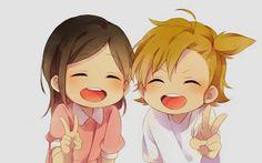 Hina and Naru // Barakamon