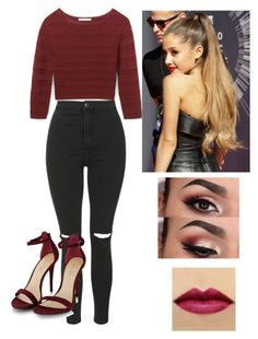 """""""❤️❤️❤️"""" by victoriamajors ❤ liked on Polyvore featuring Rebecca Minkoff and Topshop"""