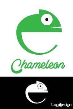 Logo Animals on Behance #chameleon