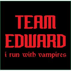 I Run With Vampires                                   ^ Absolutely. Lol.