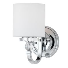 Flat Iron Ribbon Sconce-this is the one we ultimately chose for the master bath.