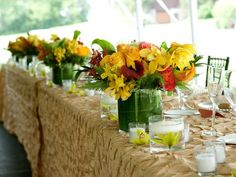 Wisteria Flowers and Gifts | Modern summer wedding, floral arrangements and table settings