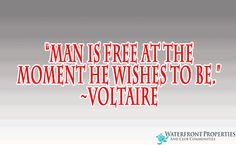 """Voltare - """"Man is free at the moment - WFP Blogs"""
