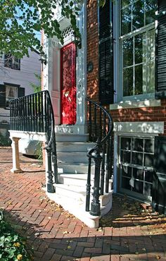 "From ""Old House Online"" Colonial Architecture in Alexandria, Virginia - Old-House Online"