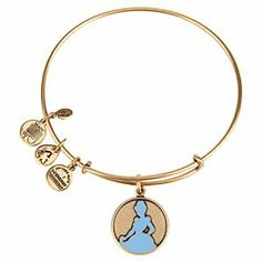 - Enjoy happily ever positive energy with this Cinderella Bangle by Alex and Ani. The Disney Princess meets her charm on this bangle that features a Russian Gold finish and sliding mechanism for a perfect fit. WANT! <3 <3 <3