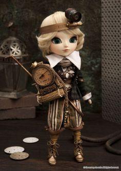Steampunk Pullip doll. WANT!  lol My new obsession...
