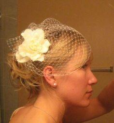 Mrs. Sea Breeze's DIY Birdcage: Cheap, Yes. Easy, No. :  wedding diy veil Z17301101 birdcage2