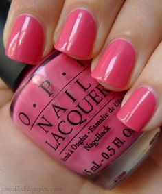 OPI - Elephantastic Pink. love this colour, just bought it for spring/summer