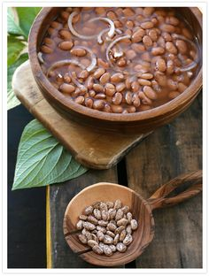 Frijoles de la Olla.  Pinto beans simmered in a pot are such a simple, beautiful thing.  Eat warm with a tortilla, mash for refried, add to soups, or freeze in small batches for future use.  This is what's for dinner tonight!  :)