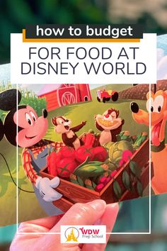 Find out exactly how much money you need to plan to spend on food on your next Disney World vacation.