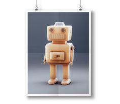 """Podívejte se na můj projekt @Behance:  """"The Robo """"T"""""""" https://www.behance.net/gallery/58064207/The-Robo-T"""