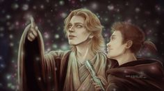 """""""The road lies before you, Anakin Skywalker. Will you walk it alone?""""        """"No, master. As a Jedi. If you'll show me the way"""""""