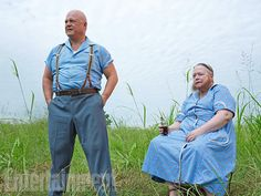 Dell (Michael Chiklis) and Ethel Darling (Kathy Bates), American Horror Story: Freak Show. See more new photos here: http://www.ew.com/ew/gallery/0,,20302134_20852287,00.html