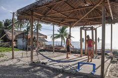 BEACH SIDE HUT GYM – DUMAGUETE, PHILIPPINES