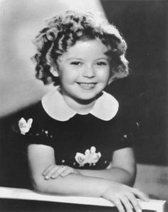 Then... Shirley Temple  Quite possibly one of the cutest and most talented actresses in the entire history of film