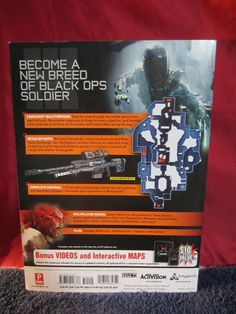 CALL OF DUTY BLACK OPS 3-Official Strategy Guide~PlayStation 4~Xbox One~PC~EUC…