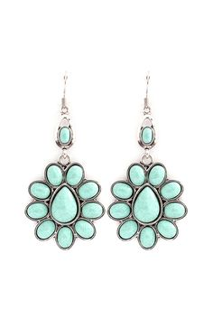 Melody Earrings in Turquoise