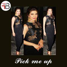 Gorgeous Priyanka Chopra gives us some serious Fashion inspiration in this black dress.