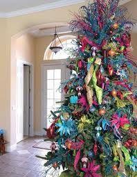 A Merry Modern Christmas Christmas Tree Themes Whimsical Christmas Colorful Christmas Tree
