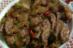 เมนูอาหารใต้หมูกะปิแสนอร่อย ~ สูตรอาหารไทย 4 ภาค