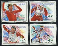 Norway Unused NK 1168 71 OL Winners V 1993 | eBay