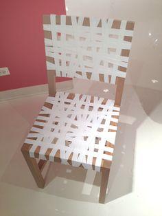 KI Furniture - white chair -  Neocon 2013