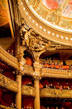 L'Opéra Garnier**. This is where you will be watching at me when I'm performing in this amazing theatre!