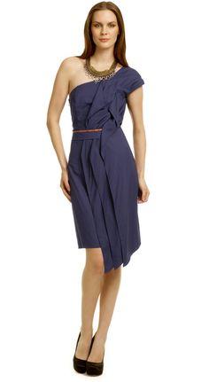Sachin + Babi Kenya Ruffle Dress