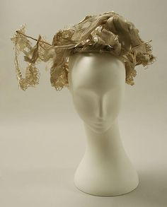 Hats from the Met: 1830s