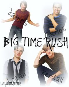 Big Time Rush. Taking my daughter to see them next weekend. Huge brownie points for mom.