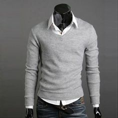 2015 men's V-neck solid polos ralp male Sweater superstar Men Sweater leisure Jumpers Sweaters Pullovers