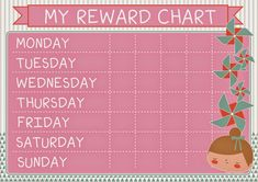 Looking for a Printable Reward Chart Template. We have Printable Reward Chart Template and the other about Printable Chart it free. Reward Chart Template, Printable Reward Charts, Printable Numbers, Free Printables, Toddler Reward Chart, Goal Charts, School Images, Baby Sign Language