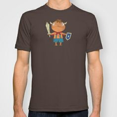 NI NO KUNI : THE FIRST FAMILIAR T-shirt by Marco Lilliu - $22.00