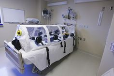 Aug. 5, 2014 – Writebol is flown from Liberia to Emory University Hospital in Atlanta, Georgia, for Ebola treatment in its isolation ward.