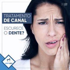 Sim, é possível. Isso pode acontecer em alguns casos (hemorragia após a remoção pulpar, longo contato do dente com substâncias etc.). Se você fez tratamento de canal e seu dente escureceu, tem procedimentos que podem reverter a situação, como o clareamento intra-canal ou as facetas.  Odontoreis, o sorriso da realeza.👑 (48) 99190-7213 whatsapp / (48) 3025-2844 www.clinicaodontoreis.com.br