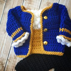 Beast Inspired Costume/Beauty and the Beast/Crochet Beast Crochet For Kids, Crochet Baby, Crochet Crown, Princesa Disney, Yarn Sizes, Newborn Photo Props, Disney Inspired, Little Man, Knitting Projects