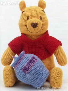 crochet+winnie+the+pooh | Winnie The Pooh Crochet Pattern