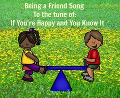 Songs About Friendship for Kinder and Pre-K Friendship Lyrics, Teaching Friendship, Friendship Crafts, Friendship Lessons, Friendship Games, Songs About Friendship, Friendship Theme Preschool, Celebrating Friendship, Funny Friendship