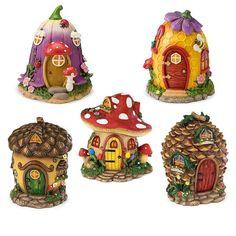 Clay Fairy House, Fairy Houses, Fairy House Crafts, Fairy Village, Village Houses, Mushroom House, Felt Mushroom, Clay Fairies, Little Critter