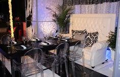 Black, White & Purple wedding - for inspiration board for Mobella Events, www.mobellaevents.com