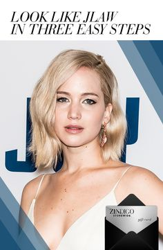 Get Jennifer Lawrence's simple and chic style with this ensemble from Single Dress, Stella Valle and bella j. Whether you are a Hunger Games, Silver Linings Playbook, Joy, or an American Hustle fan, this girl can just do no wrong. Use code JLAWLOOK for $35 off a $100 purchase, valid 1/25-2/5. #zindigo #zindigodaily #jlaw #itgirl