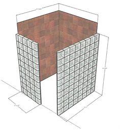 Glass Block Shower Designs Mit Plänen