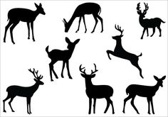 Deer Silhouette Clip Art Pack | Silhouette Clip ArtSilhouette Clip Art - ClipArt Best - ClipArt Best