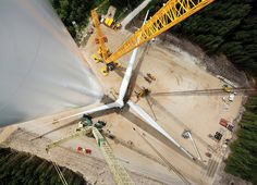 The world's largest wind turbine can power 6,000 homes and has rotator blades the size of an Airbus. Welcome to the future!