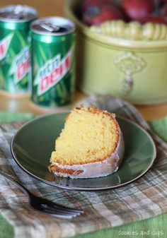 Mountain Dew Cake...one of our favorite cakes..perfectly lemony and moist!