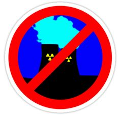 """""""NO NUCLEAR POWER by Chillee Wilson"""" Stickers by ChilleeWilson 