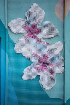 Creative Embroidery on Metal, Surprising Twist in Green Home Decorating and Modern Art Cross Stitching, Cross Stitch Embroidery, Cross Stitch Patterns, Crochet Patterns, Creative Embroidery, Floral Embroidery, Hand Embroidery, Diy Couture, Art Textile